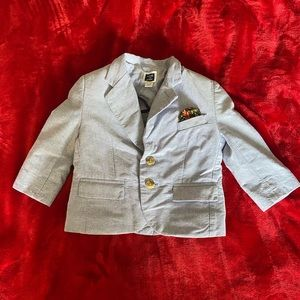 Little boys custom blazer/smoking jacket